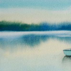 Boats 5, 64x28 cm, 2015, SOLD