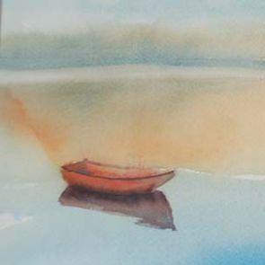 Boats 4, 64x28 cm, 2015, SOLD